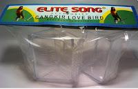 Tempat Pakan/Minum Burung Merk Elite Song
