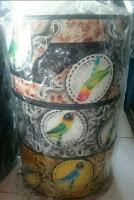 Tebok Bambu Sangkar Lovebird